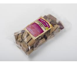 Dřevěné špalíky z vinařských sudů k zauzení, 1kg